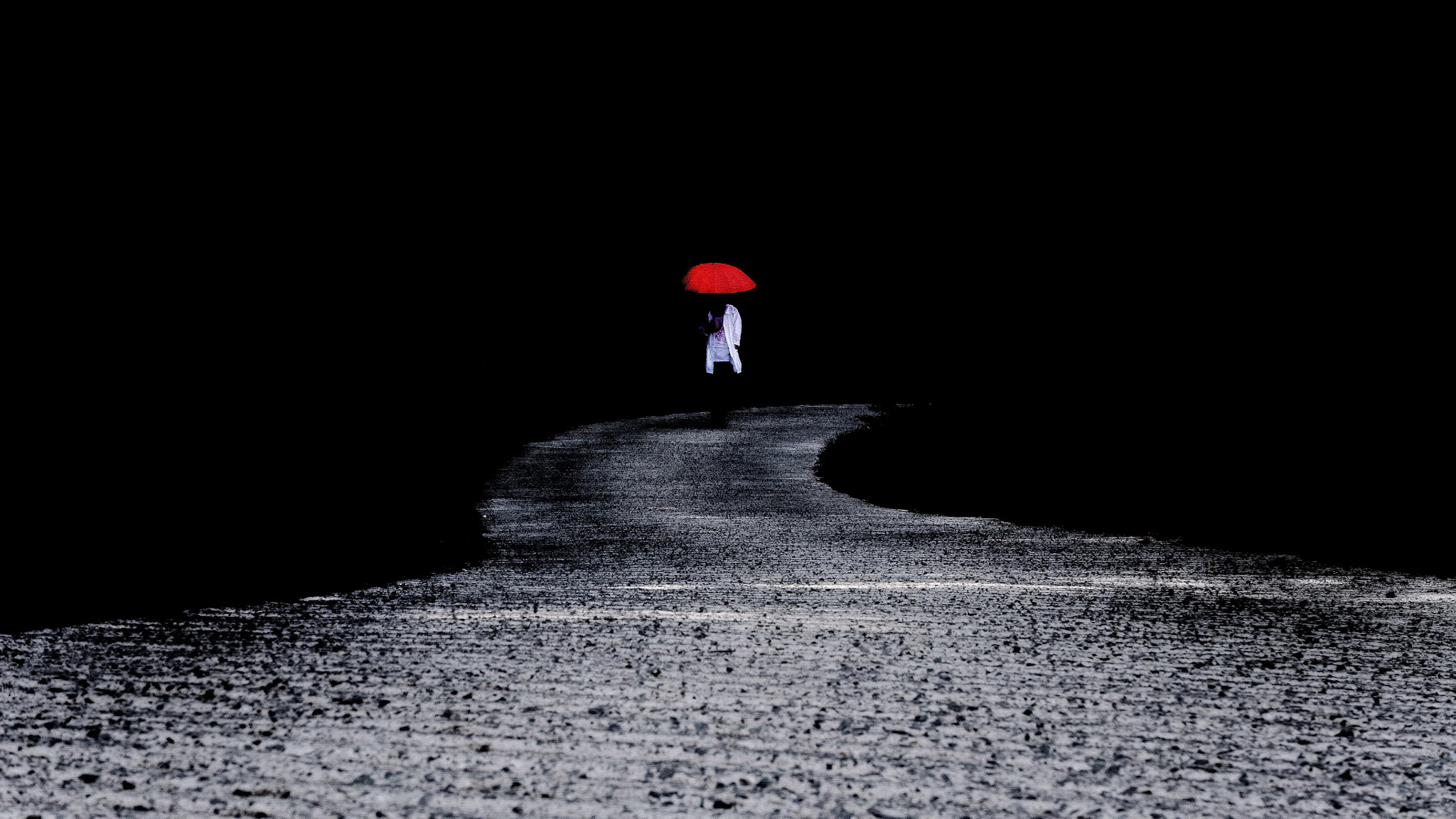 Photograph black road by choi go un on 500px