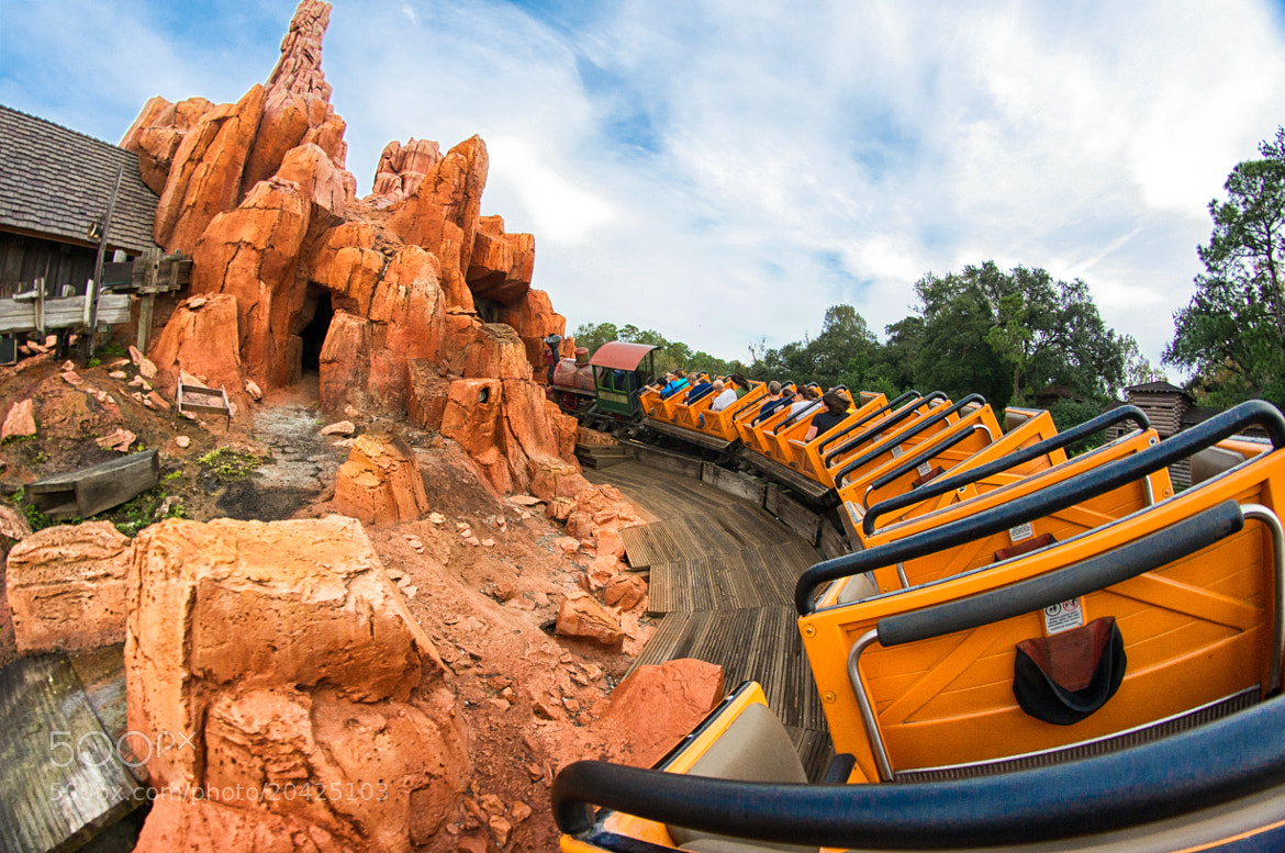 Photograph Big Thunder Mountain Railroad by Mike Sperduto on 500px