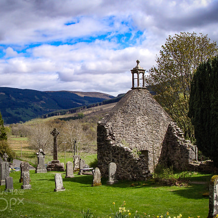 Rob Roy's Resting Place, Sony DSC-H3