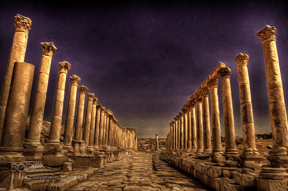 Photograph Roman Path ! by jamil ghanayem on 500px