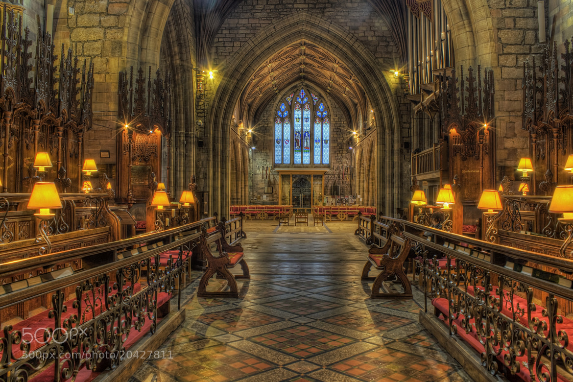 Photograph St Asaph Cathedral by Ian Mitchell on 500px