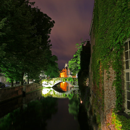 Bruges At Night, Canon EOS 70D