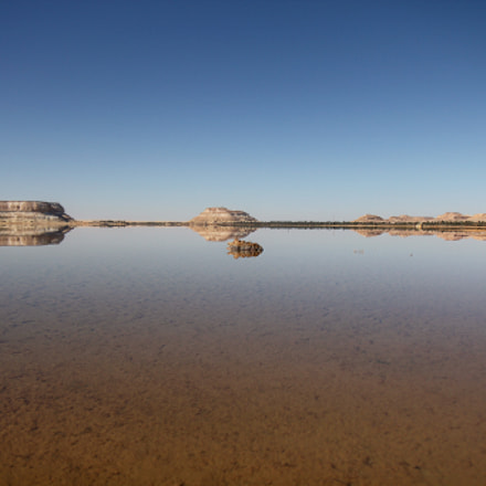 Siwa Oasis, Egypt. Lake, Canon EOS 550D, Canon EF-S 17-55mm f/2.8 IS USM