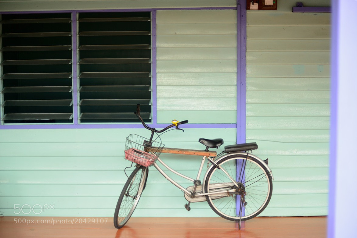 Photograph La bicyclette by Fred Melot on 500px