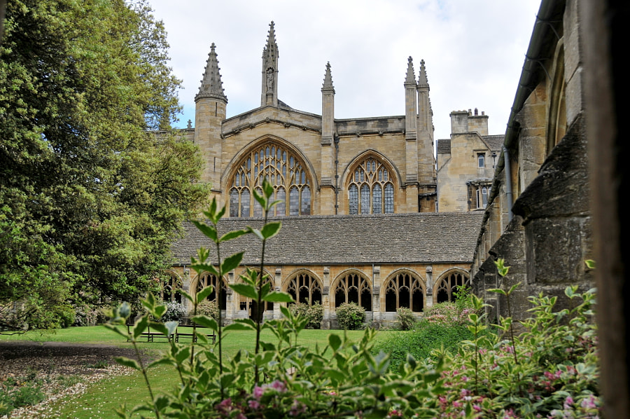 New College, Oxford, UK by Sandra on 500px.com