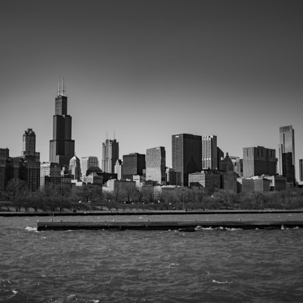 View of Chicago from, RICOH PENTAX K-1, smc PENTAX-FA 43mm F1.9 Limited