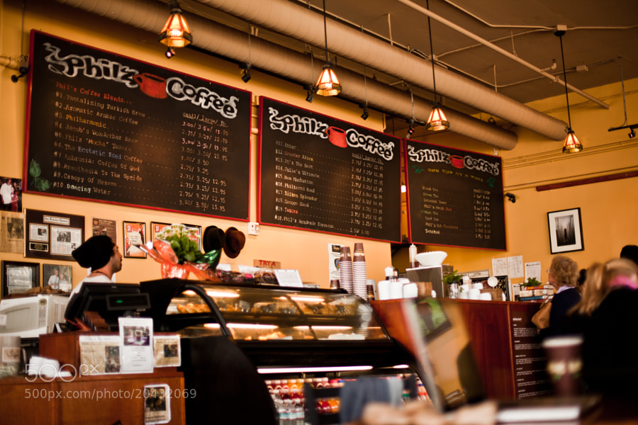 Photograph Philz Coffee: AT&T Park by Omachonu Ogali on 500px