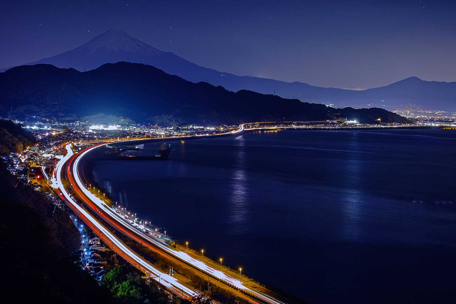 Photograph Stars and Mt.Fuji by Hideo Ishijima on 500px