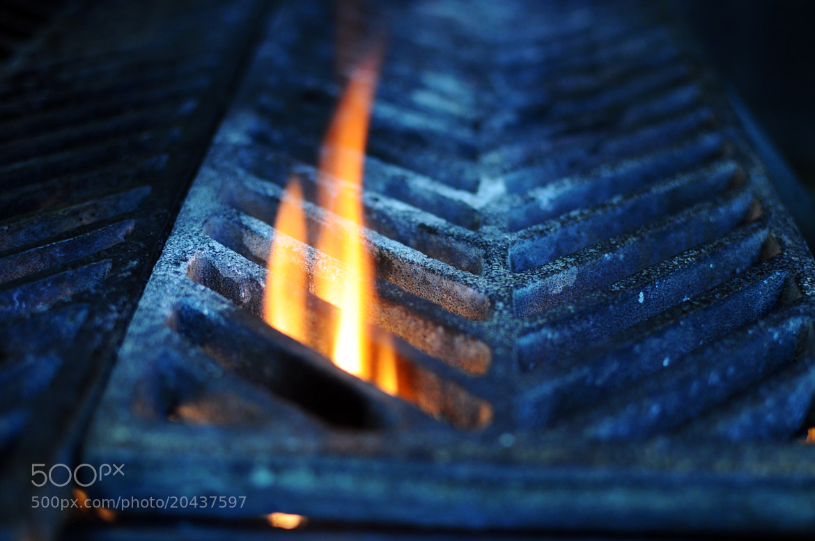 Photograph Flame, Grill by Simon Sperling on 500px