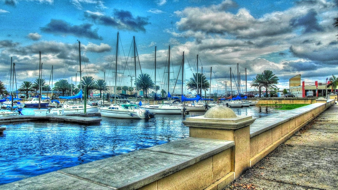 Photograph The Marina Blue by Jack Pierson  on 500px