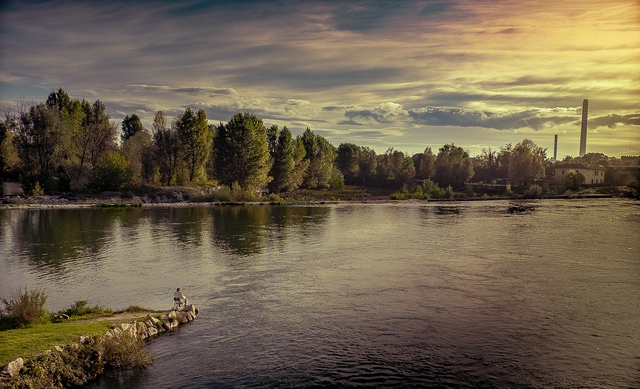Photograph Fishing for our destiny by Simone Messaggi on 500px
