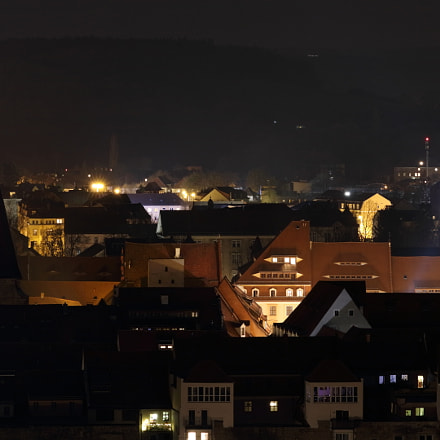 Pirna am Abend , Canon EOS 80D, Canon EF 100-400mm f/4.5-5.6L IS II USM