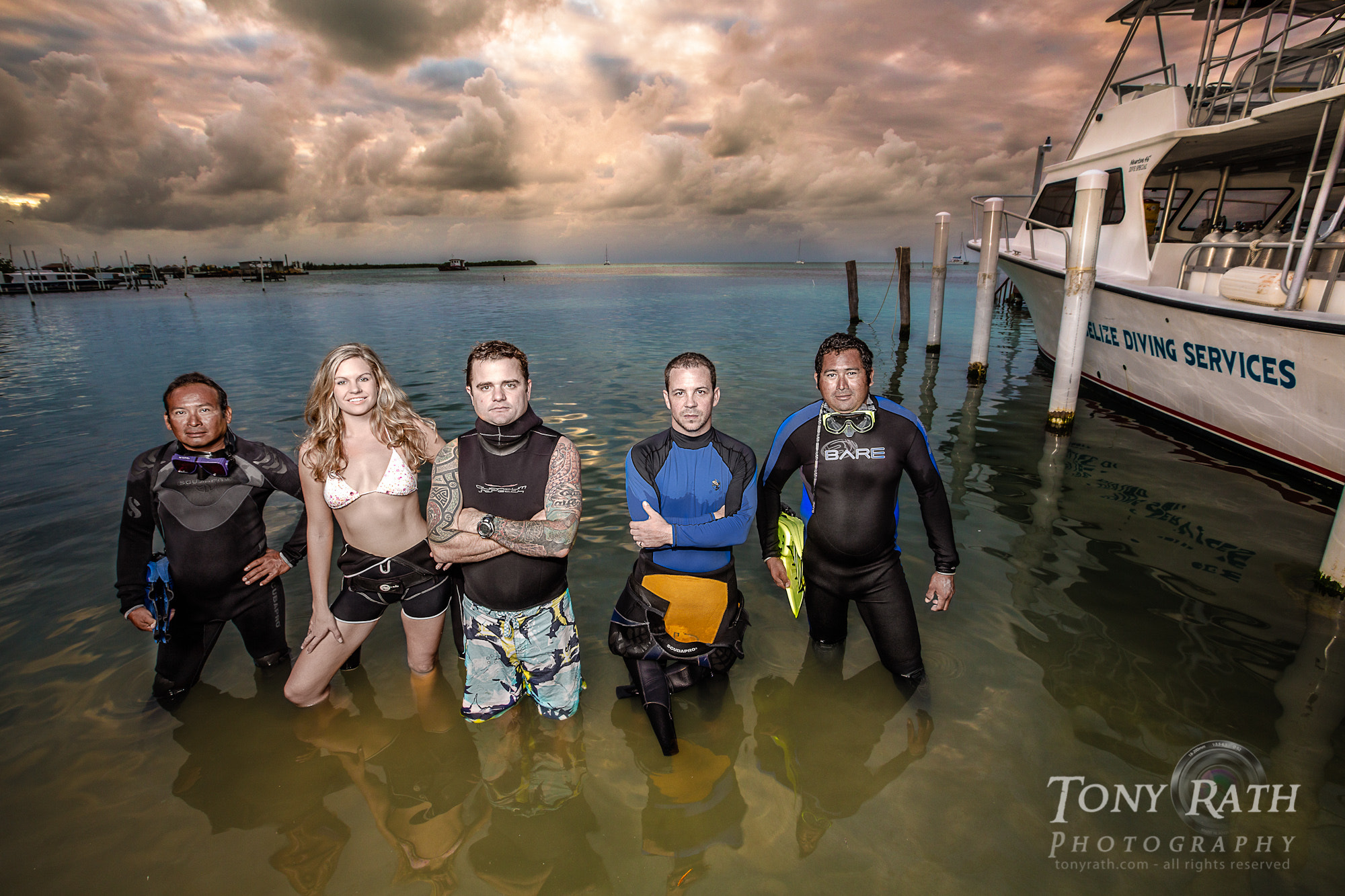 Photograph Belize Diving Services Owner Photo by Tony Rath on 500px