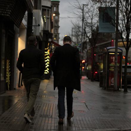 Streets of Belfast, Canon EOS 550D, Canon EF 50mm f/1.8 II