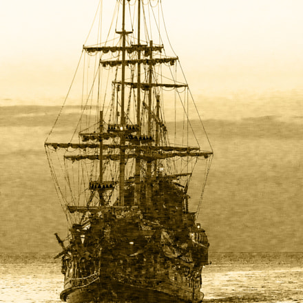 Ghostship, Canon EOS 500D, Canon EF 70-200mm f/4L