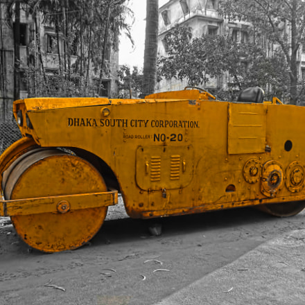 Road Construction Vehicle, Sony DSC-W650