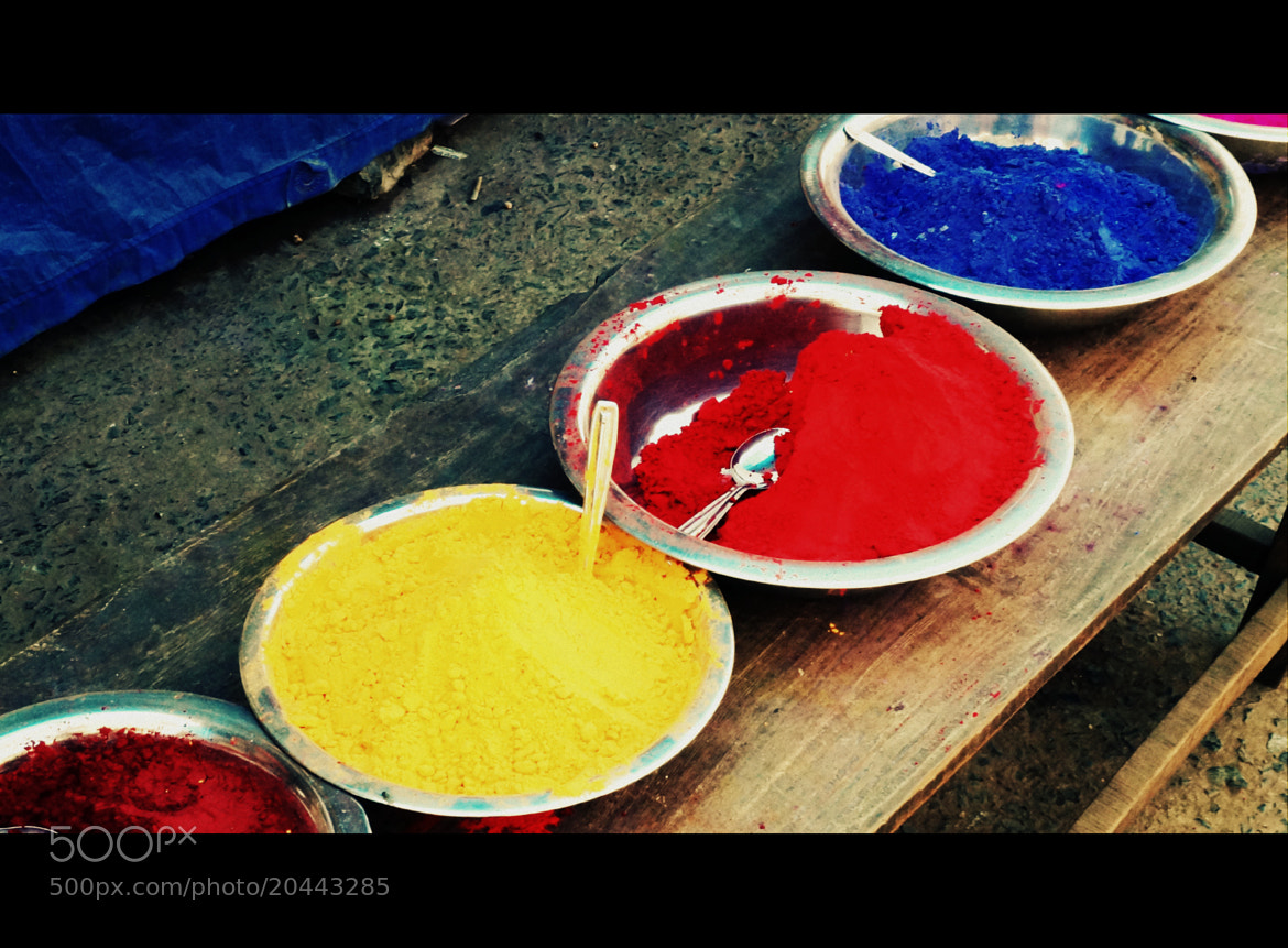Photograph Colors in plenty by Nishant  Jain on 500px