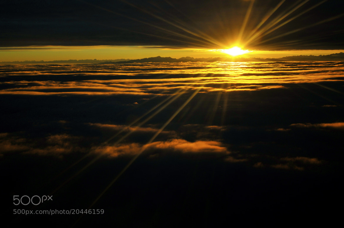 Photograph Between Cloud Layers by Hermes S on 500px
