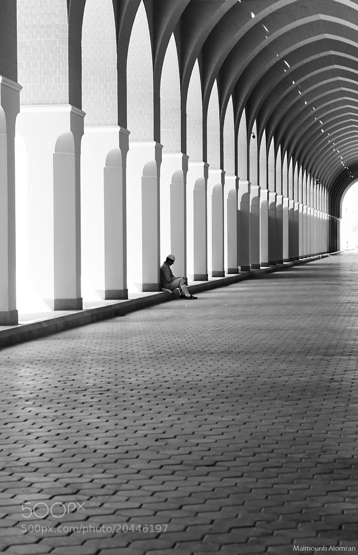Photograph Alone ..  by Maimounh  Alomran on 500px