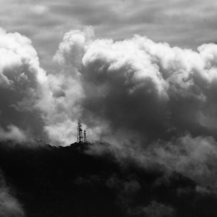 Mountain Clouds, Canon EOS REBEL T5I, Canon EF-S 55-250mm f/4-5.6 IS STM