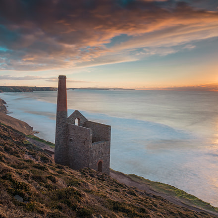 Wheal Coates long exposure