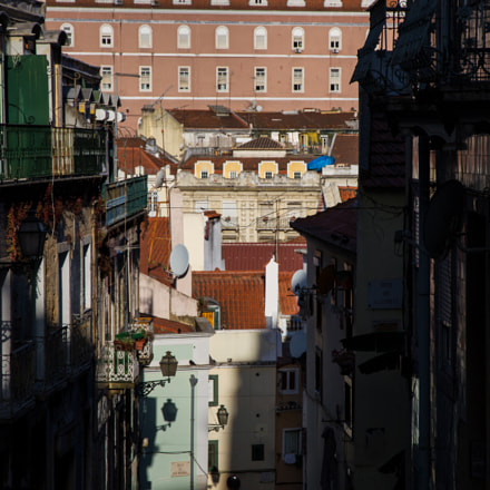 Morning on Lisboa, Canon EOS 7D, Canon EF-S 15-85mm f/3.5-5.6 IS USM