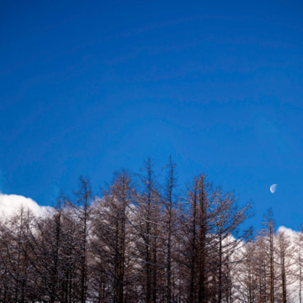 Moon in the blue, Samsung NX1