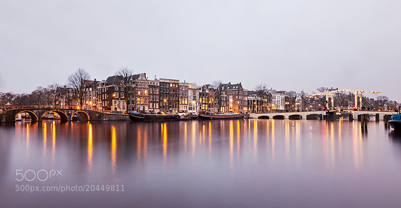Photograph Reflections of the Amstel by Sonia Blanco on 500px