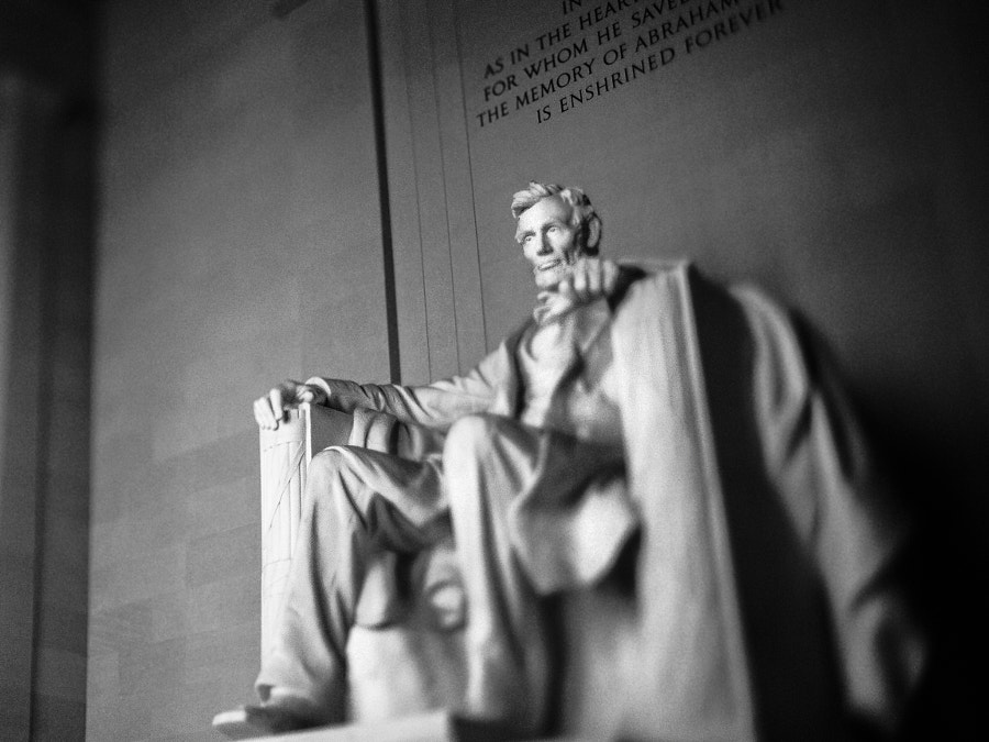 Abraham Lincoln by Jeff Carter on 500px.com