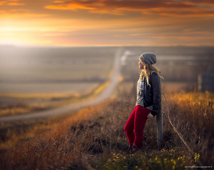 On The Fence by Jake Olson Studios