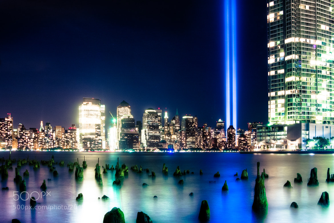 Photograph Ground Zero Lights by Karran Sahadeo on 500px