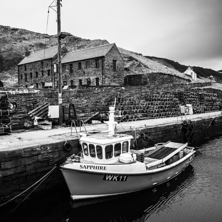 Lybster Harbour, Scotland, Panasonic DMC-G7, Lumix G Vario 12-32mm F3.5-5.6 Asph. Mega OIS