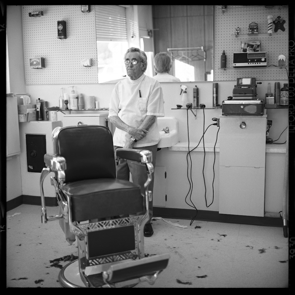 Photograph John's Barber by Chris Prefontaine on 500px