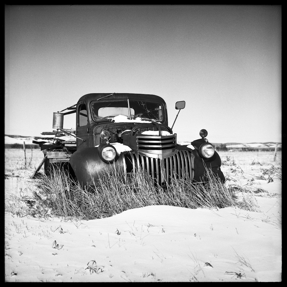 Photograph Old Truck by Chris Prefontaine on 500px