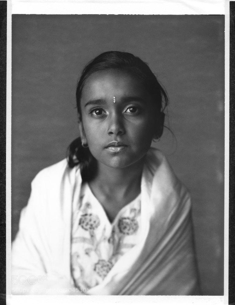 Photograph Asha 4x5 Polaroid by Chris Prefontaine on 500px