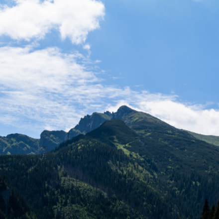 Tatry, Canon EOS 1000D, Canon EF-S 18-55mm f/3.5-5.6 IS