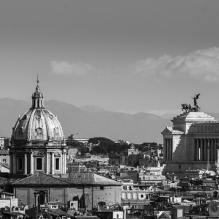 Rome skyline, Canon EOS 5D MARK III, Canon EF 28-300mm f/3.5-5.6L IS