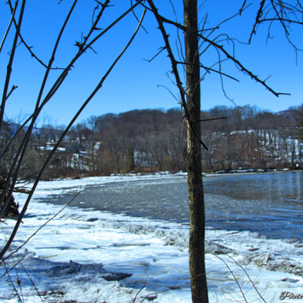 Ice on the River, Canon POWERSHOT SX530 HS