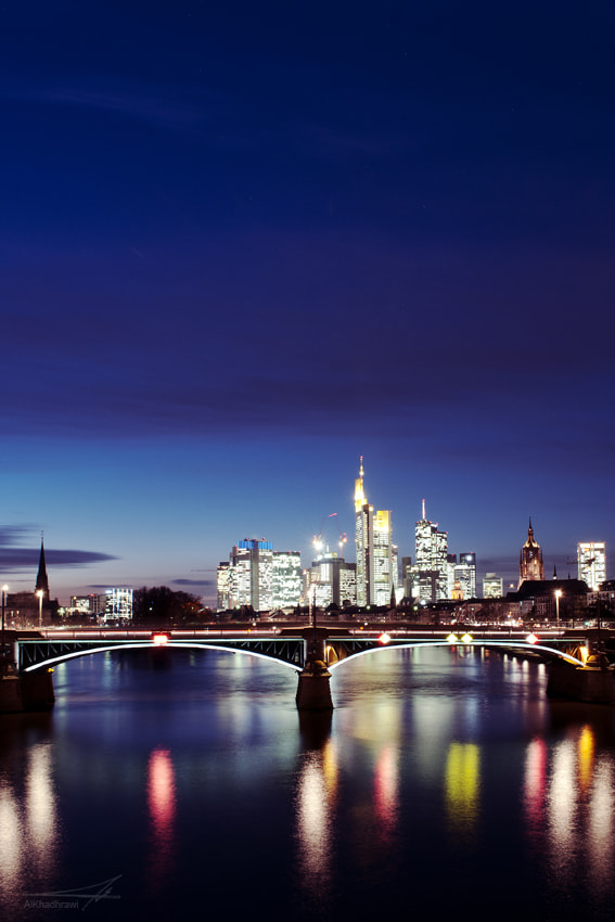 Photograph Frankfurt Skyline by Mohammad Ali on 500px