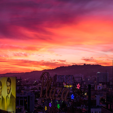 Tequila Sunset - Hollywood, Nikon D750, Sigma 50mm F1.4 DG HSM | A