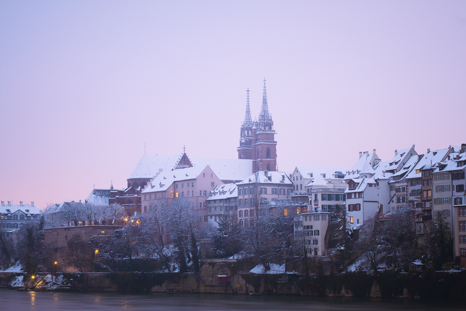 Photograph early sunday morning in basel, december 2012 by Olivia  on 500px