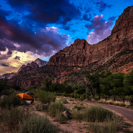 Camping in Zion, Canon EOS 6D, Canon EF 24-70mm f/2.8L II USM