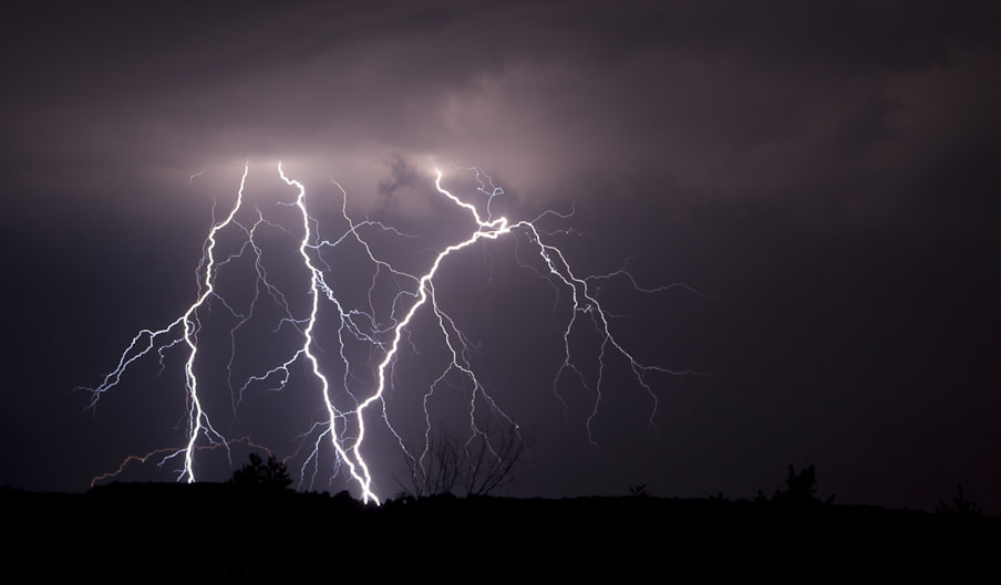 Photograph Lightning Strike by Peter Finnie on 500px