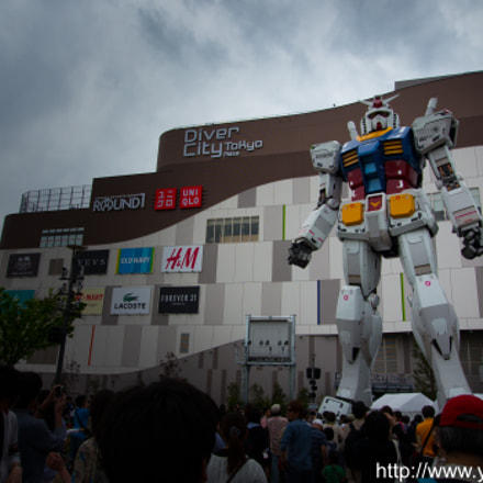 GUNDAM, Panasonic DMC-GH2, OLYMPUS DIGITAL 11-22mm Lens