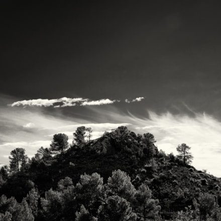 Hill with pines, Nikon D3100, Tamron AF 18-200mm f/3.5-6.3 XR Di II LD Aspherical (IF) Macro (A14NII)