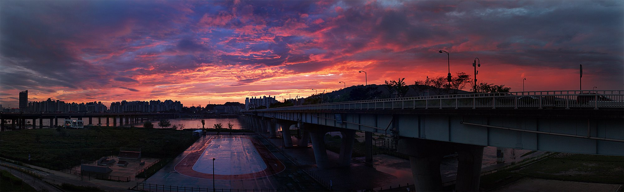 Photograph Gwangjin bridge Panorama by Yoon Geun Park on 500px