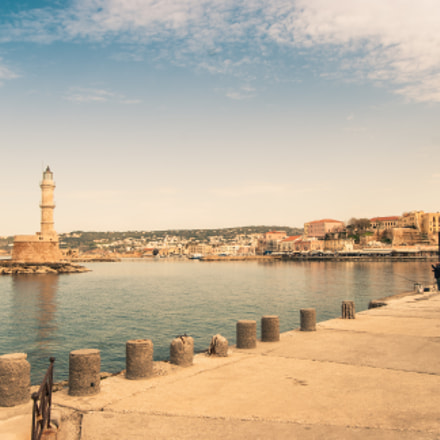 Chania lighthouse, Nikon D40X, AF-S DX Zoom-Nikkor 18-55mm f/3.5-5.6G ED II