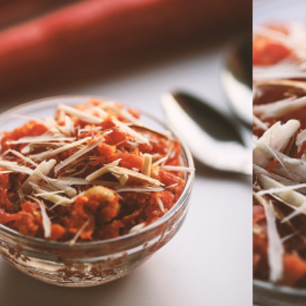 Gajar Halwa, Canon EOS 5D MARK III, Canon EF 100mm f/2.8L Macro IS USM