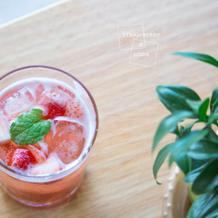 Strawberry Soda, Canon EOS 700D, Canon EF-S 55-250mm f/4-5.6 IS STM
