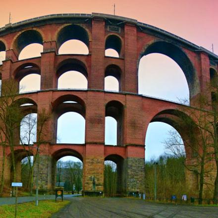 Goltzschtalbrucke - railway bridge
